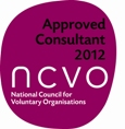 NCVO approved consultant 2012 logo